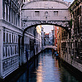 Bridge Of Sighs And Morning Colors In Venice by Greg Matchick