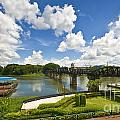 Bridge On The River Kwai Thailand by Charuhas Images