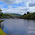 Bridge On The River Tay by Pravine Chester