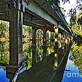 Bridge Over Ovens River by Kaye Menner