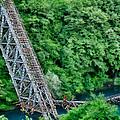 Bridge Over The Lazy River by Zoran Buletic