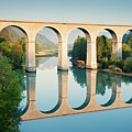 Bridge Over The River Durance In Sisteron, France by Kirill Rudenko