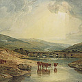 Bridge Over The Usk by Joseph Mallord William Turner