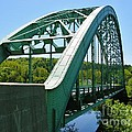 Bridge Spanning Connecticut River by Sherman Perry