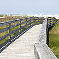 Bridge To The Beach by Glennis Siverson