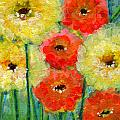 Bright Colored Flowers Shine by Ashleigh Dyan Bayer