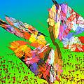 Bright Elusive Butterflys Of Love by David Lane