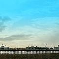 Brighton Pier Panorama by John Basford