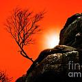 Brimham Sunset by Meirion Matthias