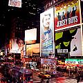 Broadway At Times Square by Heidi Reyher
