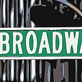 Broadway Sign Color 6 by Scott Kelley
