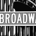 Broadway Sign Color Bw10 by Scott Kelley