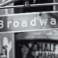Broadway Street Sign II by Clarence Holmes