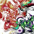 Broken Paint Strokes by Susan Leggett
