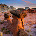 Brokentop Hoodoo Sunset by Mike  Dawson