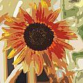 Bronze Sunflower by James Hill