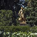 Brookgreen Golden Statue by Darleen Stry