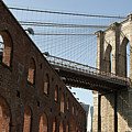 Brooklyn Bridge & Empire Fulton Ferry State Park by Just One Film