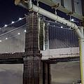 Brooklyn Bridge And A Drain by Alex AG