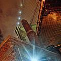 Brooklyn Bridge At Night by Alex AG