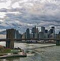 Brooklyn Bridge Carousel by S Paul Sahm