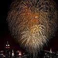 Brooklyn Bridge Celebrates by Susan Candelario