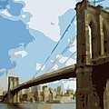 Brooklyn Bridge Color 16 by Scott Kelley