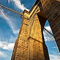Brooklyn Bridge End Of The Day by Patrick  Flynn