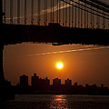 Brooklyn Bridge Sunrise by Bill Cannon