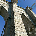 Brooklyn Bridge Tower I by Clarence Holmes