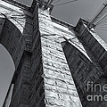Brooklyn Bridge Tower II by Clarence Holmes