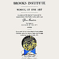 Brooks Diploma - Glenn 1972 by Glenn Bautista