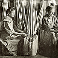 Broom Manufacture, 1908 by Granger