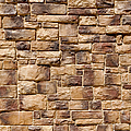 Brown Brick Wall by Brandon Bourdages