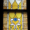 Brown Stained Glass Window by Thomas Woolworth