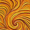Brown Swirl by Hakon Soreide