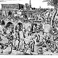 Bruegel: Ice Skaters by Granger