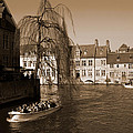Bruges Canal by Donato Iannuzzi