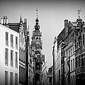 Brussels In Black And White by Lee Versluis