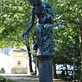Brussels Royal Garden Fountain by Carol Groenen