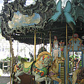 Bryant Park Carousel by Blanche Knake