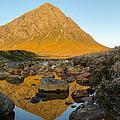 Buachaille Etive Mor At Sunrise by Ben Spencer