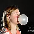 Bubblegum Bubble 2 Of 6 by Ted Kinsman
