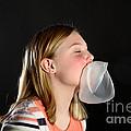 Bubblegum Bubble 5 Of 6 by Ted Kinsman