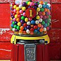 Bubblegum Machine And Gum by Garry Gay