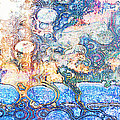 Bubbles Abstract by Debbie Portwood