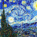 Bubbly Starry Night by Mark Einhorn