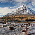 Buchaille Etive Mhor - Glencoe by Pat Speirs