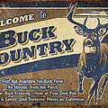 Buck Country Sign by JQ Licensing