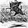 Bucking Mule, 1879 by Granger